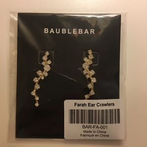 Baublebar Farah Ear Crawlers NEW still in package